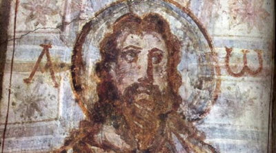 Scholars think the Historical Jesus probably did not have a halo.
